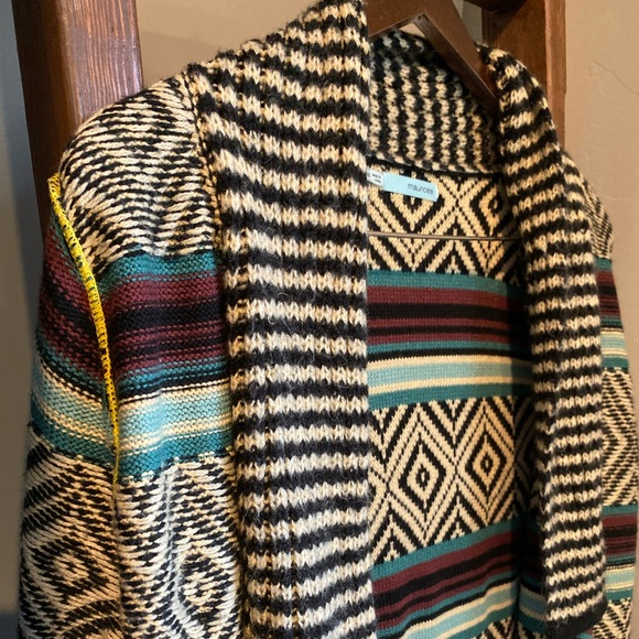 Maurices Sweaters - Chevron Open Front Sweater